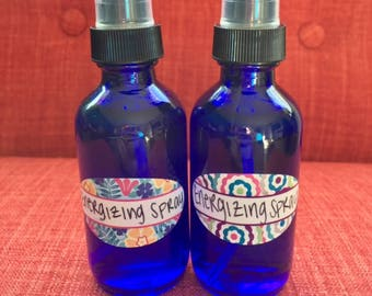 Energizing Blend Essential Oil Spray