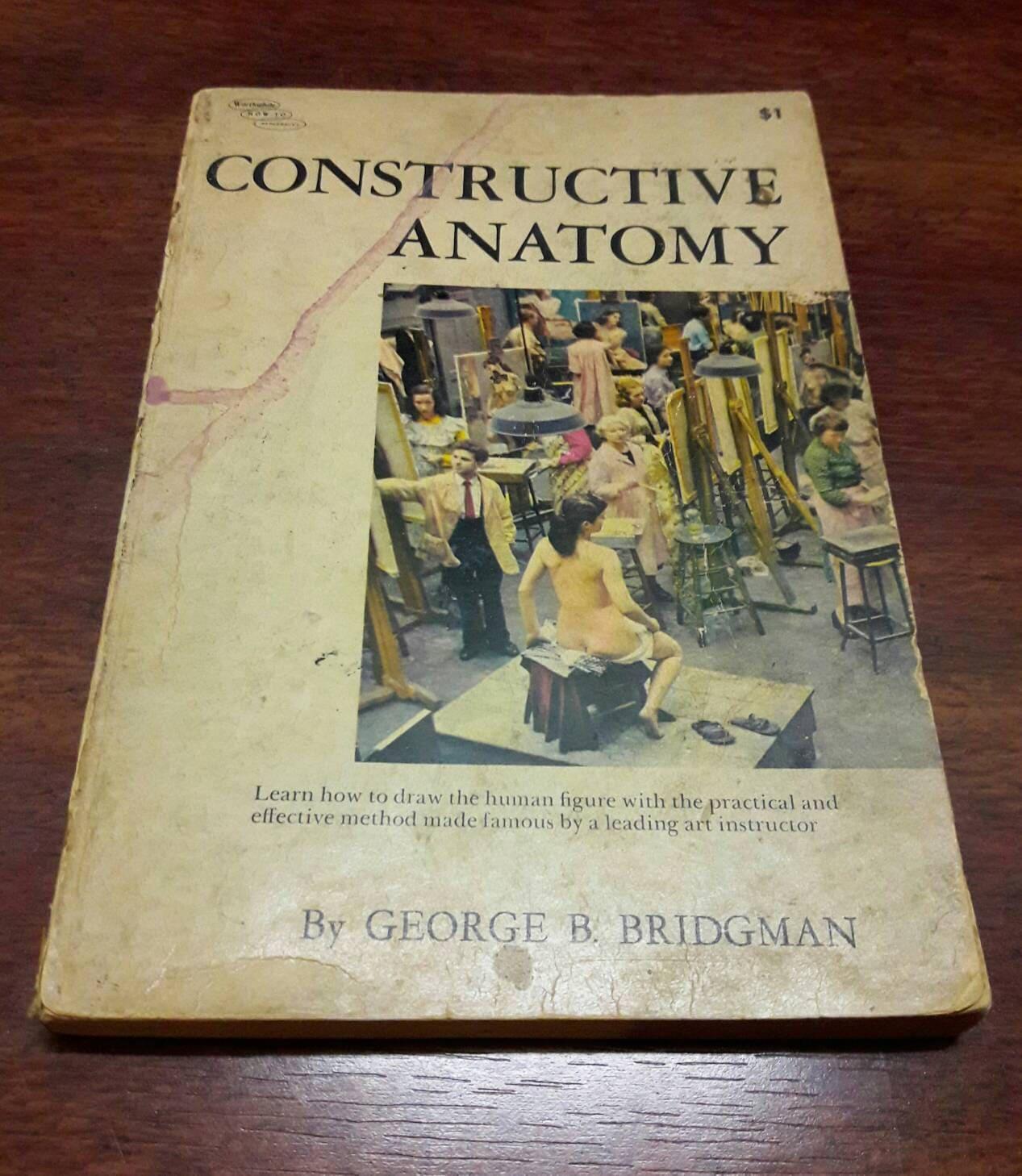 Konstruktive Anatomie von George B. Bridgman Vintage Kunst   Etsy