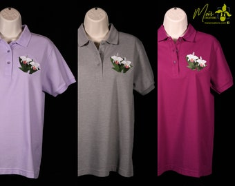 Women's Cattleya Embroidered Polo