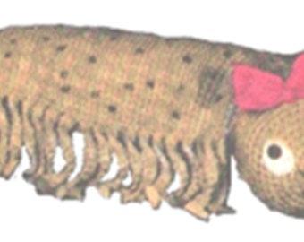 Crochet Centipede Toy Pattern, Crochet Toy Pattern, Easy Crochet Toy Pattern, PDF Downloadable Crochet Pattern,