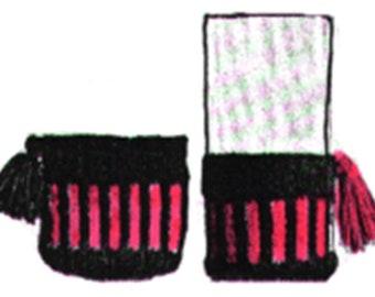 "Knitted Glass Jackets Pattern, No More ""Sweating"" Glasses, Glass Jacket Pattern, PDF Downloadable Pattern"