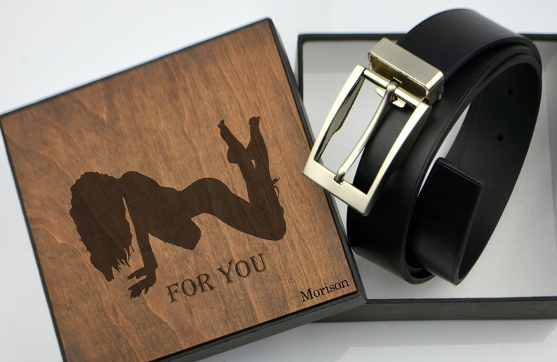 e10c5a751be Personalized leather belt Mens leather belt Engraving classic