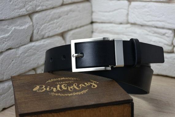 b772f5d4765b En cuir personnalisée ceinture Mens ceinture en cuir ceinture   Etsy