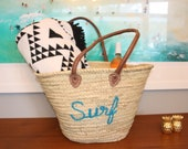 Pom Pom Straw Bag Fashion Bag Beach Tote Bag