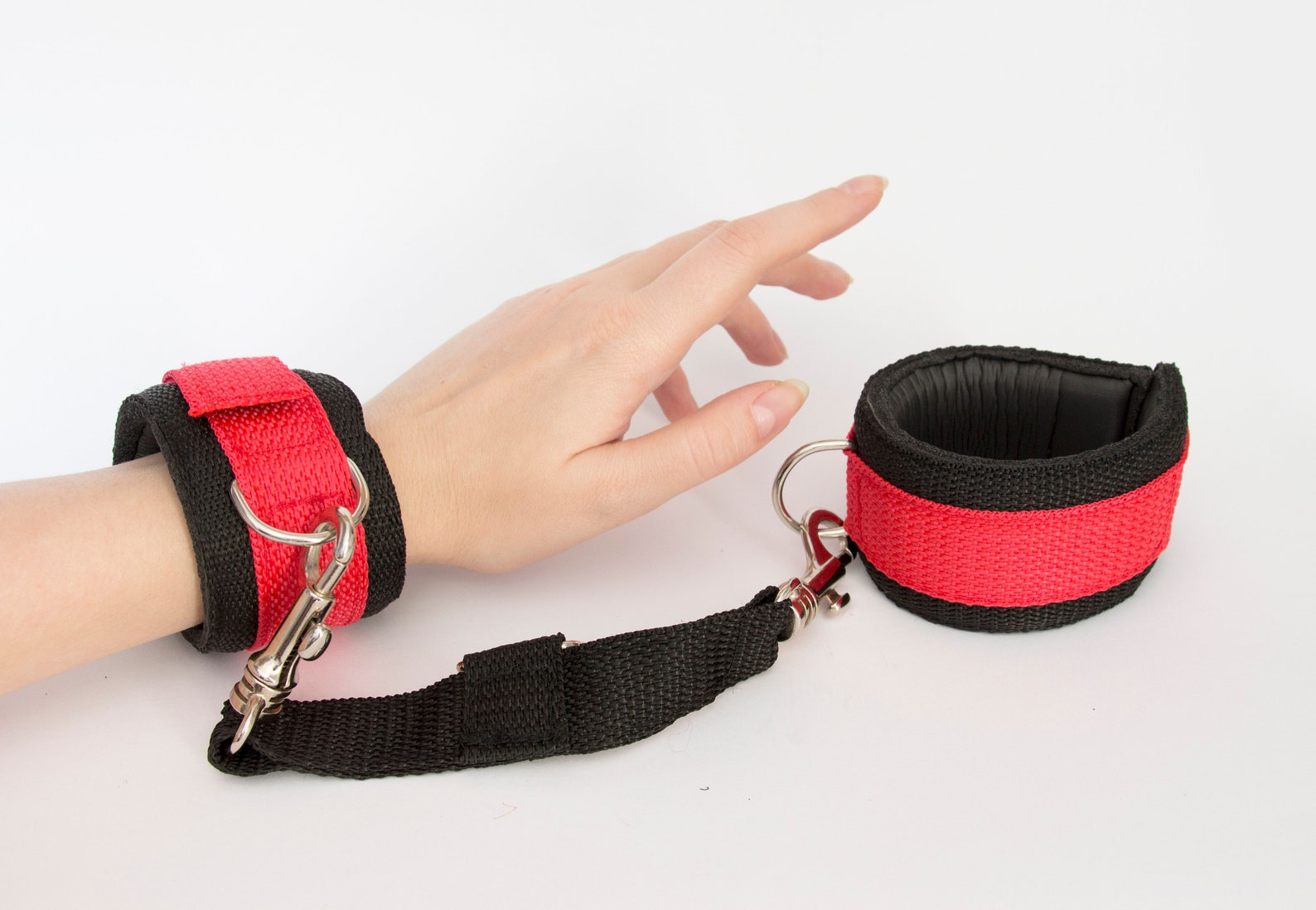 Bondage Restraints Sex Swings Kit Easy Access Velcro Adjustable Soft Wrist And Ankle Cuffs