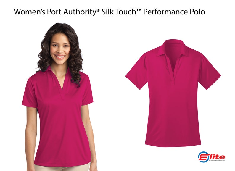 d82ff162 Women's Port Authority Performance Polo Ladies Custom | Etsy