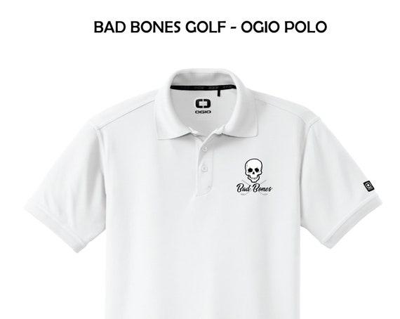 8a970687 Bad Bones Golf OGIO Caliber 2.0 Polo Custom golf Polo | Etsy