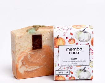 Pumpkin latté Handmade soap