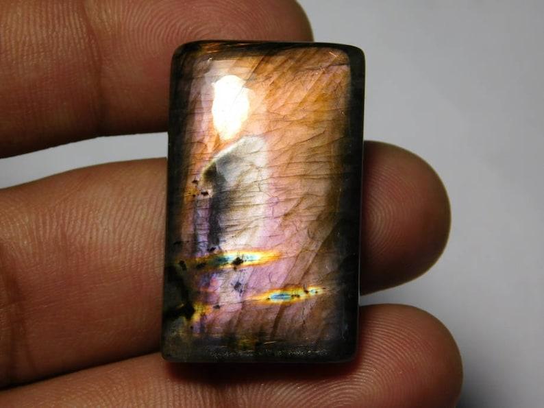 34X30 MM AAA Quality purple Labradorite Cabochon,Labradorite Gemstone,Labradorite Loose Gemstone,Labradorite Semi precious 59Cts.