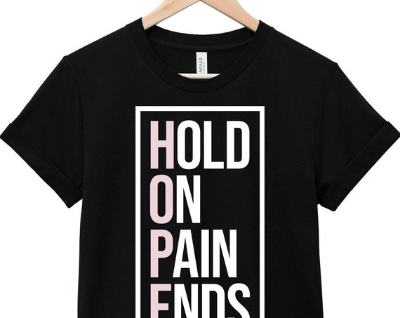 Mental Health Awareness T-Shirt - Inspirational Quote T-Shirt - Suicide Awareness T-Shirt | HOPE