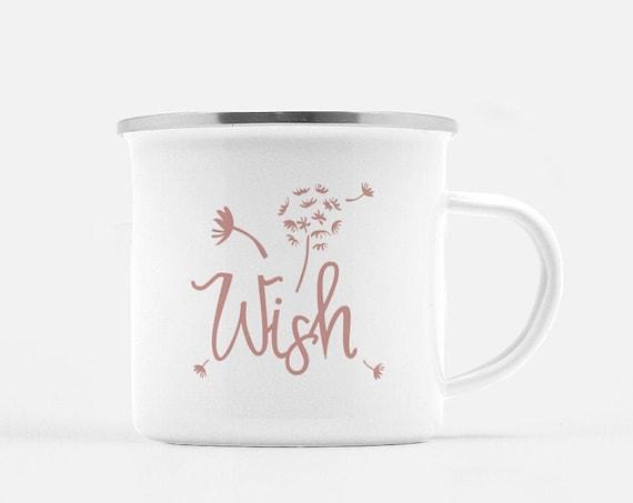 Motivational Mug | Quote Coffee Mug | Coffee Mug | Wish