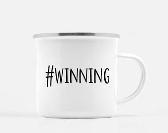Motivational Mug | Quote Coffee Mug | Coffee Mug | Winning