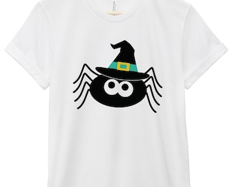 Halloween Shirt - Halloween Quote T-Shirt - Halloween Quote Tee | Spider Witch Tee