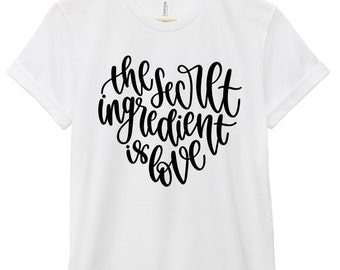 Quote T-Shirt - Inspirational Quote T-Shirt - Love Quote T-Shirt | All You Need Is Love Quote Tee