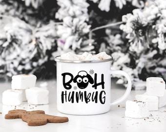 Camp Mug - Stainless Steel Mug - Funny Mug - Quote Coffee Mug - Coffee Mug   Bah Humbug Sheep