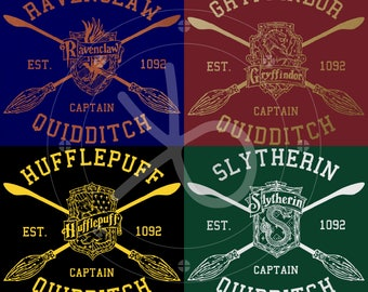 Harry Potter House Quidditch Sweatshirt