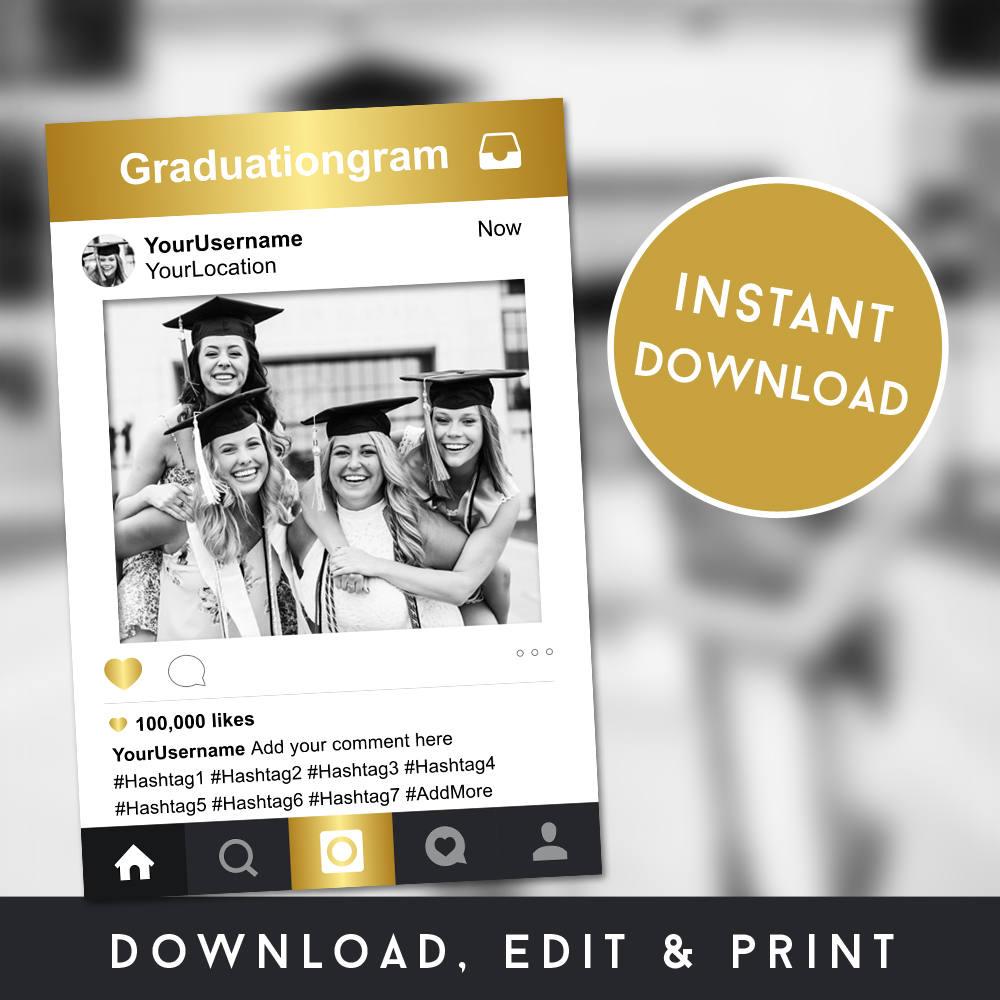 Instagram Rahmen Graduierung Instagram Fotostand Stütze
