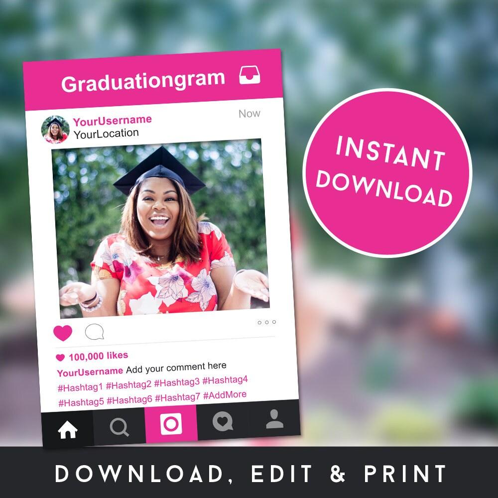 Stand-Bilderrahmen Instagram Photobooth Instagram-Vorlage | Etsy