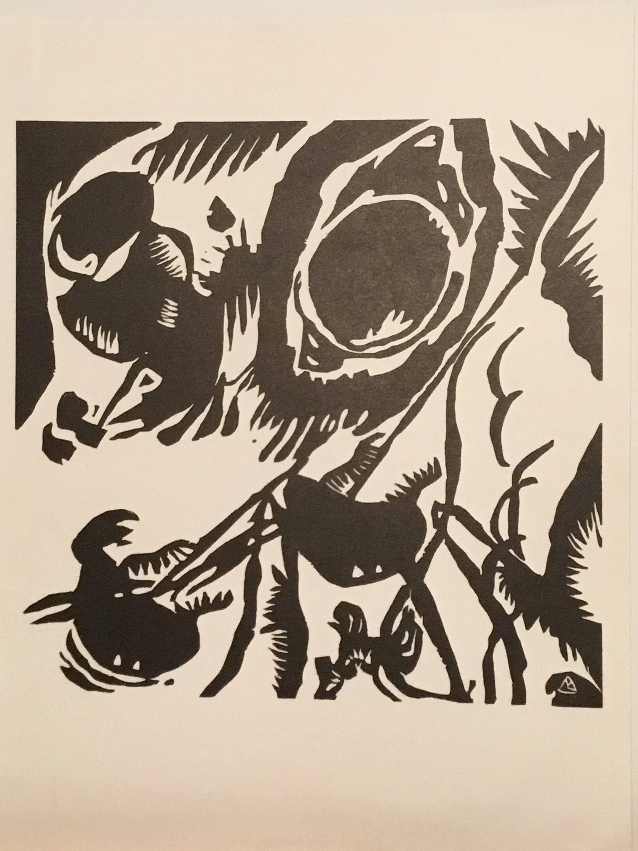 Wassily Kandinsky Motif aus Improvisation 25: The Garden Of Love ...