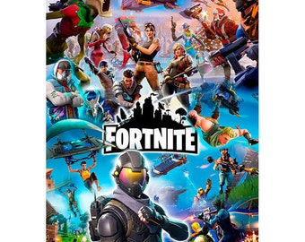 Fortnite Decal High Quality Outdoor Vinyl 4 X 6 Inch