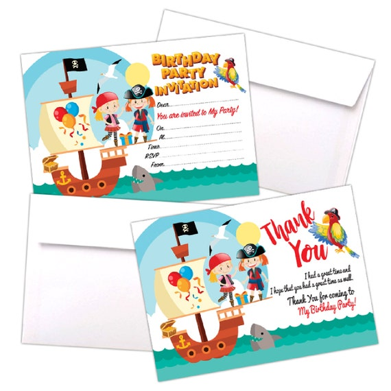 20 Quality Cards Only Invites with C6 Envelopes Option Kids child Adult Girls Boys Birthday Party 200gsm Gloss Cards Invitations Disco Party Invites