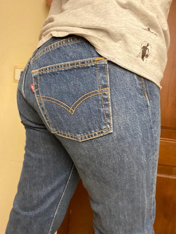 Vintage Levis 501 jeans w30 Dark blue Unisex Denim