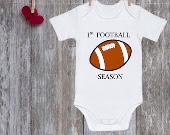 Onesie boy Funny onesie boy Football Onesie Football Onesie Boy Sports First Football season Baby Christmas gift Baby shower gift