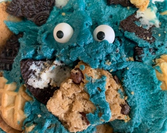 Cookie Monster Edible Cookie Dough