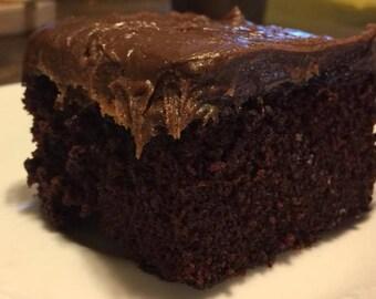 Chocolate Cake (Gluten Free) Vegan