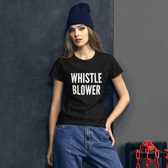 I/'m the Whistleblower Funny Anti-Trump Impeach Meme Political Crewneck Sweater