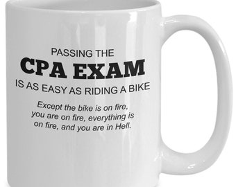 Certified public accountant mug | cpa exam coffee gift