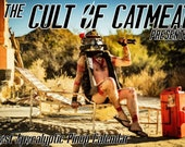 Cult of Catmeat presents A Post Apocalyptic Pinup Calendar 2021