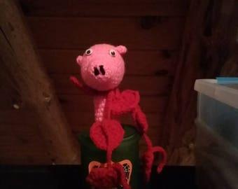 Pig Wine Bottle Topper