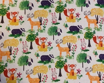 woodland Foxes Custom CribMini CribBassinetChanging Pad Cover