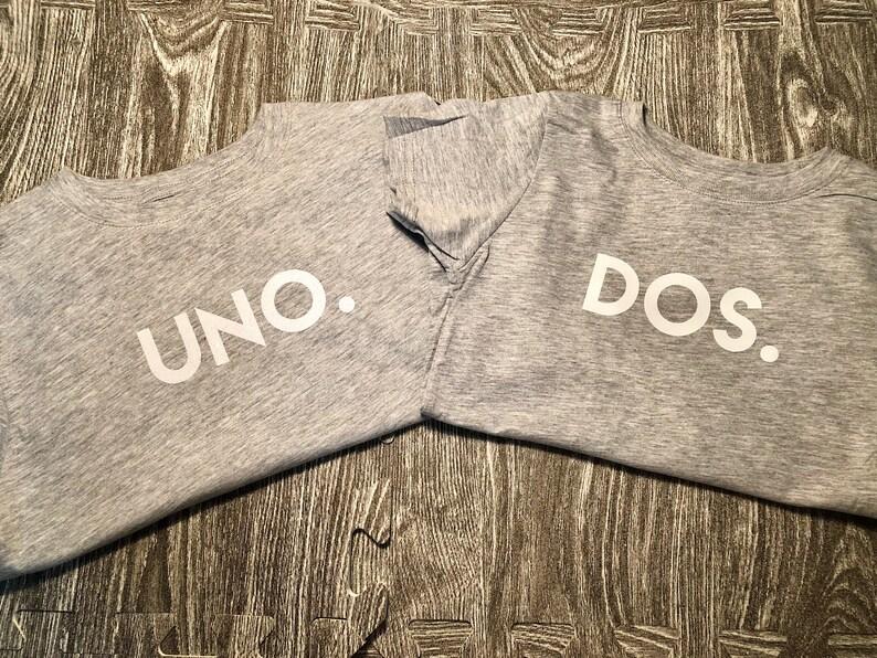 Sibling Shirts Uno Dos Shirts