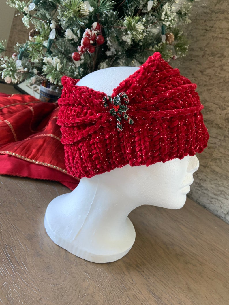 Double Threat Ear Warmer in Wool