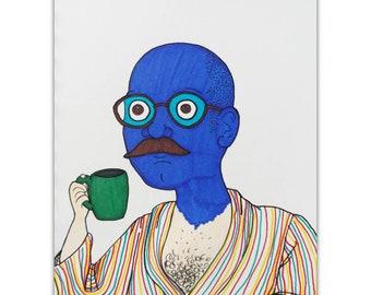 Tobias Blue Man, Arrested Development.