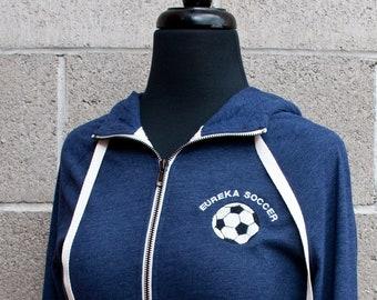 c129c48eaea Personalized New Era Ladies Sueded Cotton Blend Full-Zip Hoodie