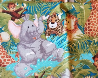 Material, Jungle Babies by Patty Reed Designs