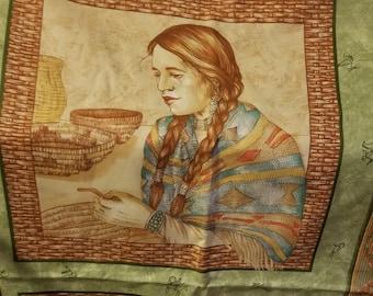 Cranston, VIP Native American print