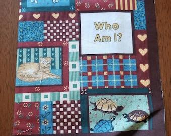 Country Gardens: Who Am I Cloth Panel