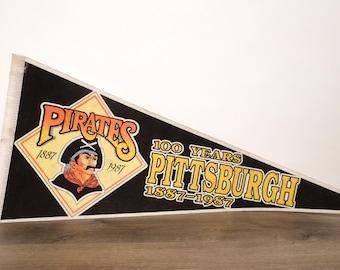 Pittsburgh Pirates Pennant - 1987
