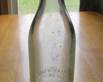 Antique soda bottle | Etsy