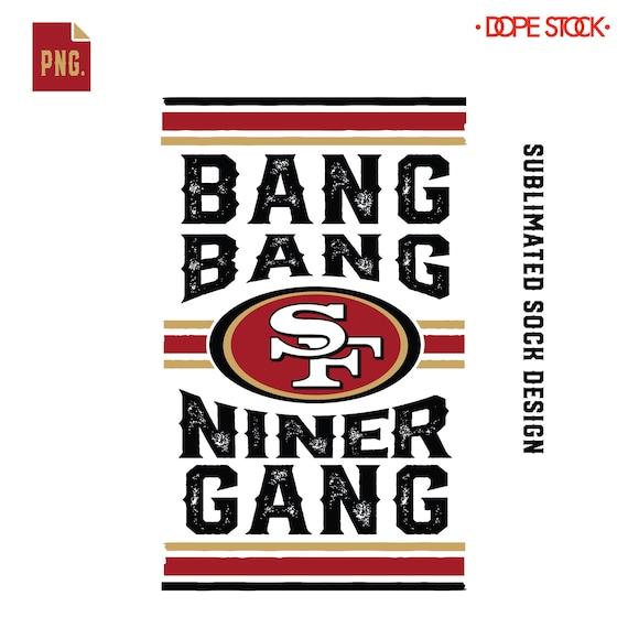 San Francisco 49ers Logopng Custom Sf 49ers Logo Png File Etsy