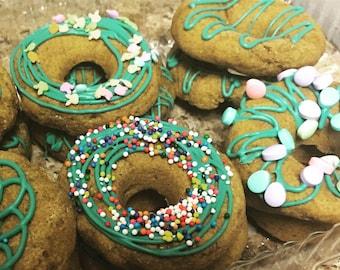 1 dozen Doggy donuts!