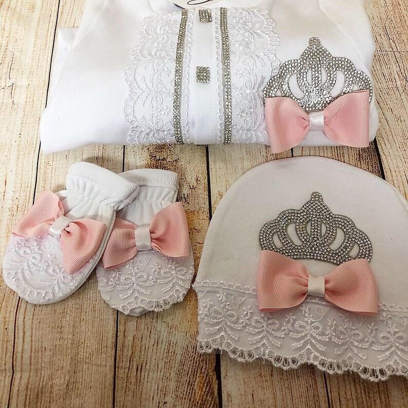 Baby pink girl baby set