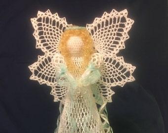 Angel Tree Topper, Angel Decoration, Christmas Angel