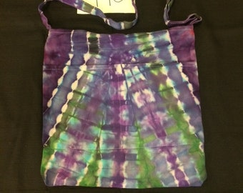 Tie Dye Messenger Crossbody Bag