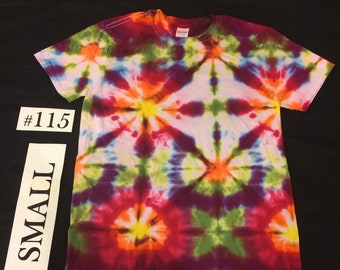Adult Small Tie Dye Shirt