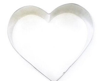 Heart cookie cutter 8cm